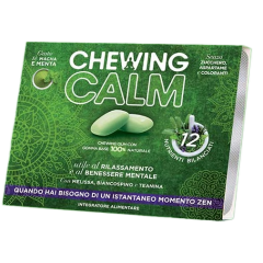CHEWING CALM 18 Gomme Masticabili