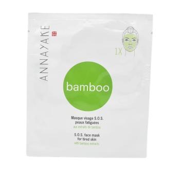 annayakemaschera viso s.o.s pelli stanche agli estratti di bamboo