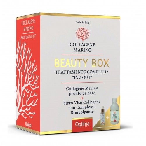 COLLAGENE MARINO BEAUTY BOX Collagene Marino 500ML + Collagene Marino Drops Siero Viso 30ML