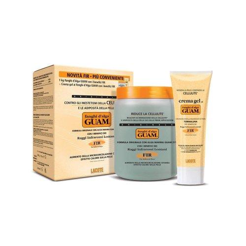 GUAM FIR Fango Alga Anticellulite 1 Kg + Crema Gel Fango Alga 200 ml