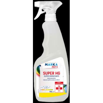 marka red's super hg igienizzante alcolico superfici 750ml