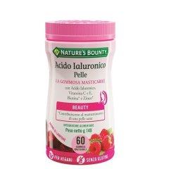 Acido Ialuronico Pelle 60 Gommose Masticabili