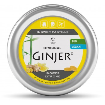 lemon pharma pastiglia bio originale ginjer zenzero e limone 50g