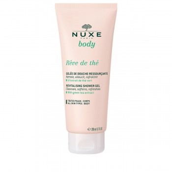 nuxe reve de the revitalising shower gel doccia rivitalizzante 200 ml