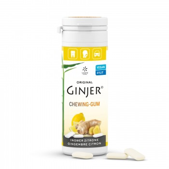 lemon pharma gomme da masticare ginjer zenzero e limone 30g