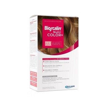 bioscalin nutricolor plus colorazione permanente n.7.3 biondo dorato