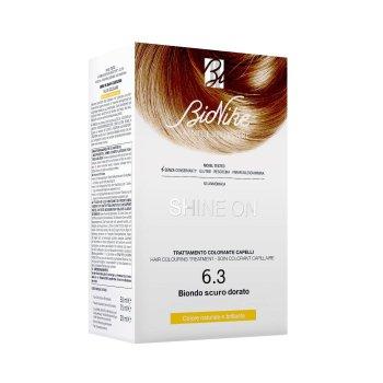 bionike shine on tintura capelli colore 6.3 biondo scuro dorato