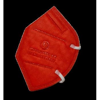 mascherine ffp2 ce0370 made in italy adulti rosso - 1,33€ al pz buste singole 15 pezzi