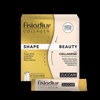 zuccari fisiodiur collagen shape & beauty 24 stick pack
