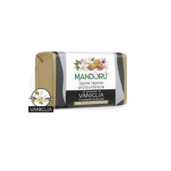 mandorli' sapone solido vegetale profumo vaniglia 100g