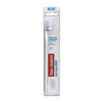 tau marin spazzolino professional white con antibatterico setole medie
