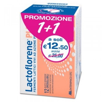 lactoflorene plus 12 + 12 bustine bipack