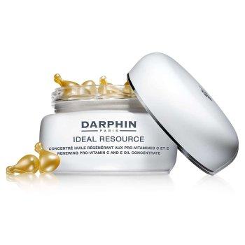 darphin ideal resource olio concentrato viso e collo con pro-vitamine c ed e - 60 capsule 20 ml