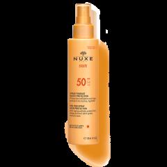 nuxe sun solare viso e corpo alta protezione spf50 spray 150ml