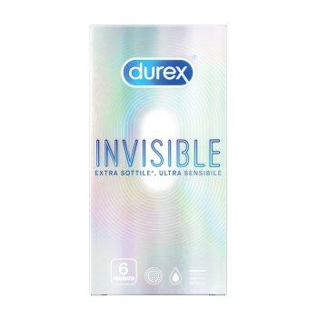 durex invisibile extra sottile ultra sensibile 6 pezzi