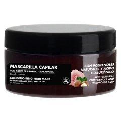 Polifenoli Naturali E Acido Ialuronico Maschera Capelli Camelia Macadamia 300ml