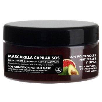 polifenoli naturali e urea maschera capelli sos pompelmo avocado 300ml