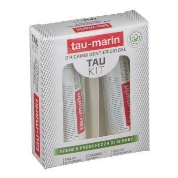 tau marin kit dentifricio gel rinfrescante 2 ricambi