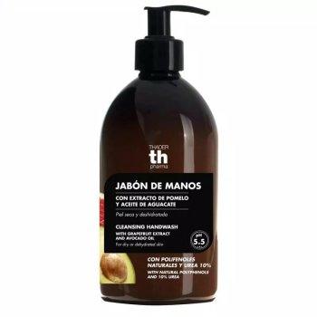 polifenoli naturali e urea sapone mani pompelmo avocado 500ml