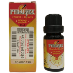 Pyralvex Soluzione Gengivale 10ml 0,5%+0,1%