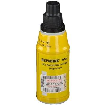 betadine soluzione cutanea 10% 125ml