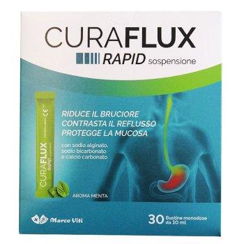 curaflux rapid sospensione 30 bustine 10ml