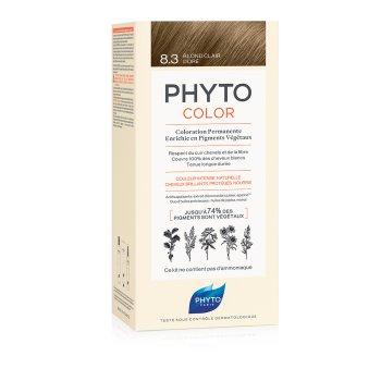 phytocolor colorazione permanente 8.3 biondo chiaro dorato