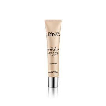 lierac teint perfect skin fondotinta fluido perfezionatore illuminante 03 beige dore 30ml