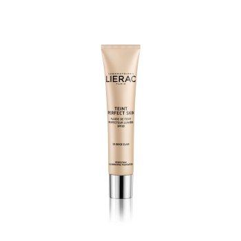 lierac teint perfect skin fondotinta fluido perfezionatore illuminante 01 beige clair 30 ml
