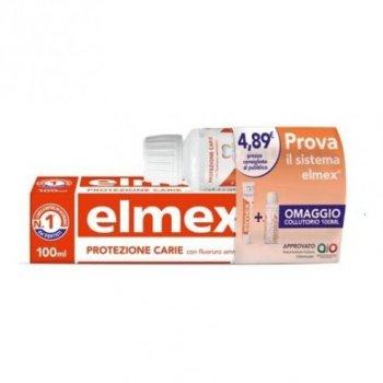 elmex special pack protezione carie dentifricio 100ml + collutorio 100ml