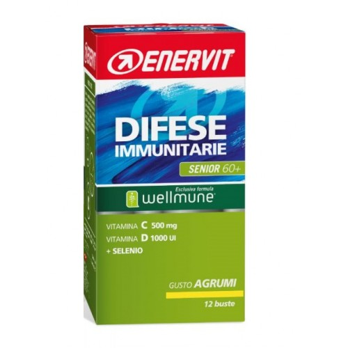 ENERVIT Difese Immunitaria Senior 60+ 12 Bustine