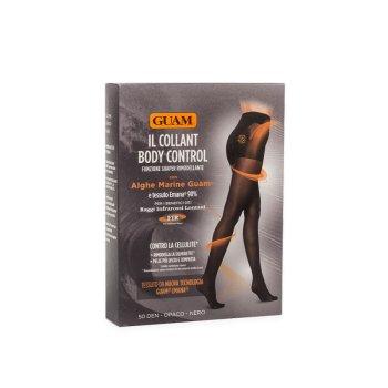guam collant body control rimodellante 50 den opaco nero s/m