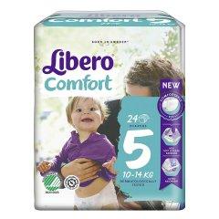 LIBERO Comfort 5 - 10-14Kg 24 Pannolini