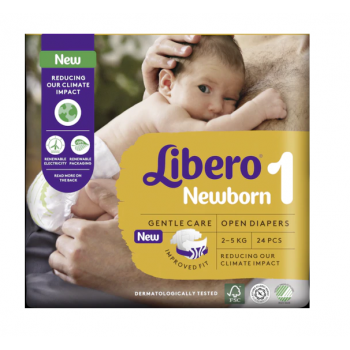 libero newborn 1 - 2-5kg 24 pannolini