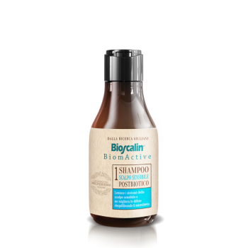 bioscalin biomactive shampoo scalpo sensibile postbiotico 200ml