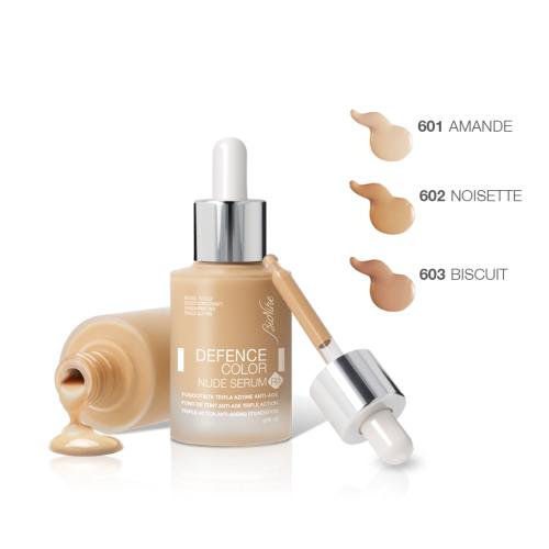 BIONIKE DEFENCE Color Fondotinta Fluido Nude Serum Colore 602