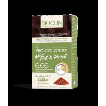 bioclin bio colorist tintura capelli natural fast e perfect colore 6.66 - biondo scuro rosso intenso