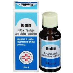 duofilm collodio 16,7% +15% trattamento verruche 15ml