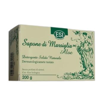 sapone di marsiglia aloe saponetta solida 200g