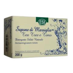Sapone Di Marsiglia Tea Tree e Timo Saponetta Solida 200g