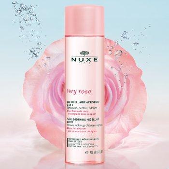 nuxe very rose acqua micellare lenitiva 3 in 1 - 200ml