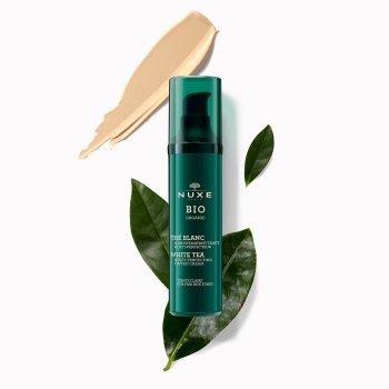 nuxe bio organic trattamento idratante colorato multi-perfezione colore chiaro 50 ml