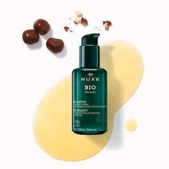 nuxe bio organic noisette huile olio corpo nutriente rigenerante 100 ml