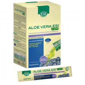 ALOE VERA SUCCO +FORTE MIRTILLO 24 POCKET DRINK 20 ml