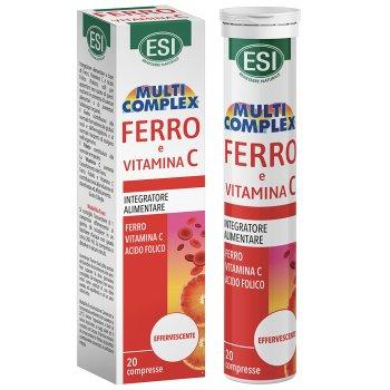 multicomplex ferro e vitamina c 20 compresse effervescenti
