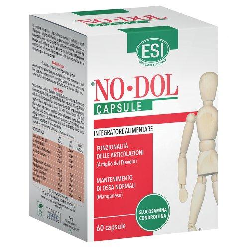 No Dol Artiglio Del Diavolo Glucosamina MSM 60 Capsule