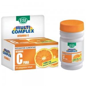 multicomplex vitamina c pura 1000mg retard 30 compresse
