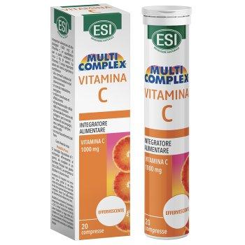 esi multicomplex vitamina c 20 compresse effervescenti