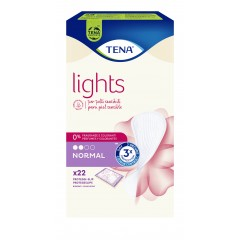 Tena Lights Discreto Proteggi Slip Normal Ripiegati 22 pezzI