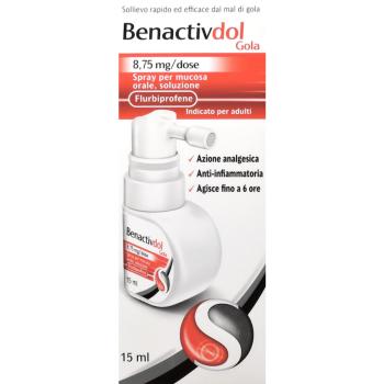 benactivdol gola spray 8,75 mg/dose spray 15ml